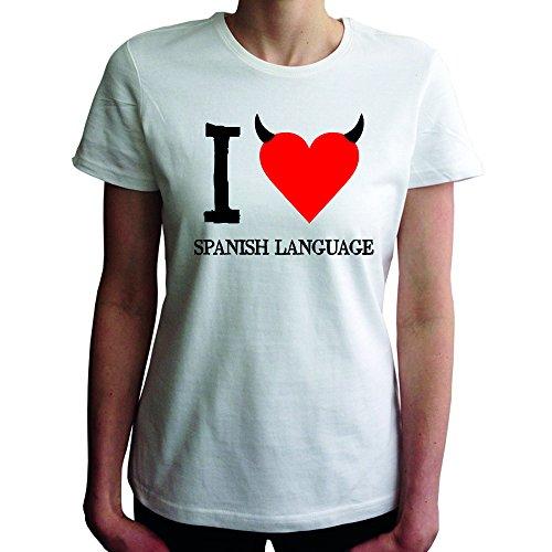 I do not love Spanish Language Women T-Shirt