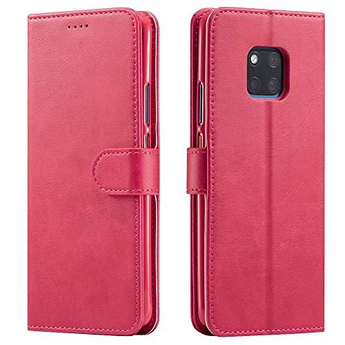 Huawei P20, P20 Pro, P20 Lite, Mate 20, Mate 20 Pro, Mate 20 Lite Hülle Handy Schutzhülle aus Premium Leder Flip Case Leder Brieftasche Leder Cover Handytasche Etui