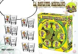 Jeu à boire La Roulette Mexicaine 2 à 6 joueurs