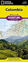 Colombia Travel Maps International Adventure Map (National Geographic Adventure Travel Maps)