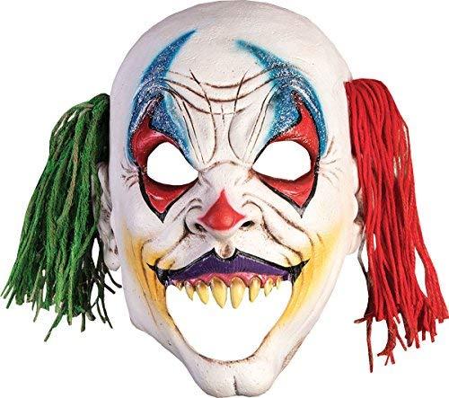 (Onlyglobal Erwachsene Halloween Horror Party Kostüm Offen Mund Böser Clown Maske)