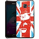 Samsung Galaxy A3 (2016) Housse Étui Protection Coque Grande-Bretagne UK Chat
