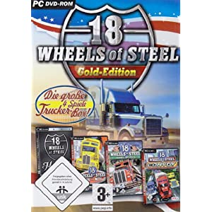 18 Wheels of Steel: Gold-Edition DVD-Box