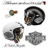 Autocollant Logo Harley Davidson pour casque de moto d'occasion  Livré partout en Belgique