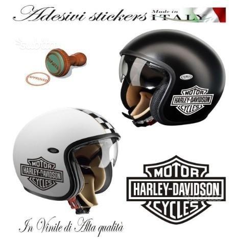 Adhesivo Decal con logo Harley Davidson B&S para casco de moto custom