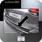 Richard Grant Mouldings Ltd. Original RGM Ladekantenschutz schwarz für Nissan X-Trail SUV T32 Kombi ab Facelift Baujahr