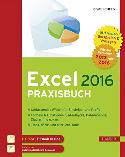 Excel 2016 Praxisbuch: Zahlen kalkulieren, analysieren und präsentieren