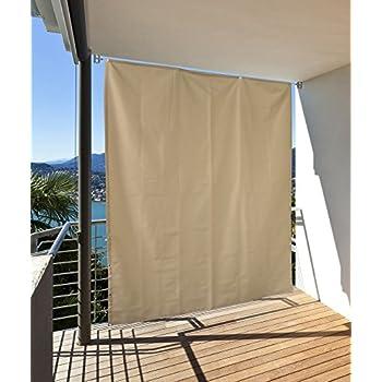 seitlicher balkonsichtschutz balkon paravent sichtschutz seitlich trennwand markise. Black Bedroom Furniture Sets. Home Design Ideas