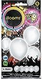 Illooms 33970 - Ballon, 5er Pack, weiß