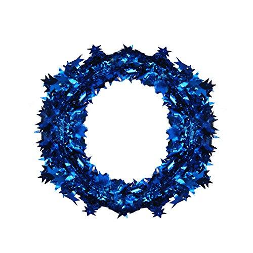 (Yearnly Weihnachten liefert Band Garland Kranz Tür Wand Ornament Ornament Party Decor Home Decoration)