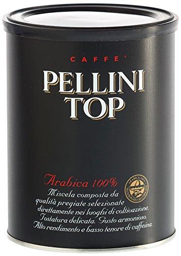 Pellini Caffè Top 100% Arabica, Gemahlen, 2er Pack (2 x 250 g)