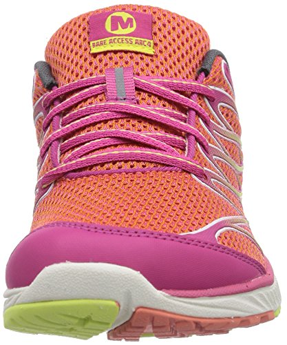 Merrell All Out Charge, Chaussures de randonnée basses homme CORAL/FUCHSIA