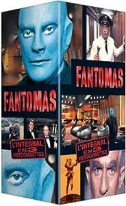 Coffret Fantômas 3 VHS : Fantômas / Fantômas contre Scotland Yard / Fantômas se déchaîne