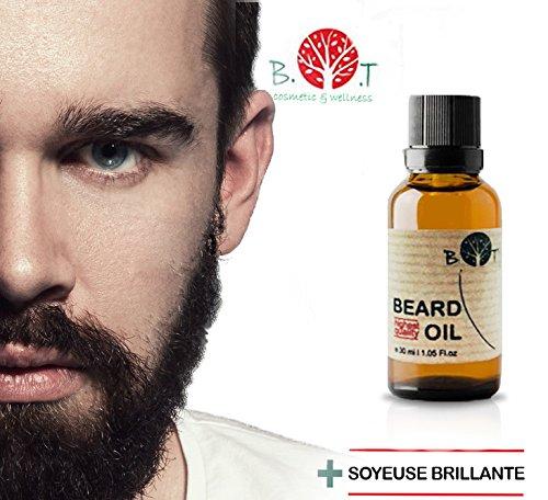 Olio da barba 3in 1:olio, siero e fluido