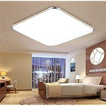 SAILUN 36W Ultra delgado LED Blanco Frío Moderno Lámpara De Techo Lámpara De Techo Pasillo Salón Cocina Dormitorio De La Lámpara Ahorro De Energía De Luz De Dorado
