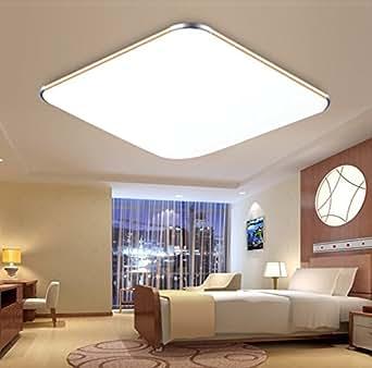 Mctech 24w soffitto del led ultraslim moderna plafoniera for Plafoniera soggiorno