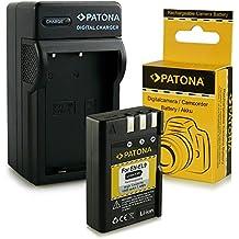 Cargador + Batería EN-EL9 / EN-EL9a para Nikon D40 | D40x | D60 | D3000 | D5000