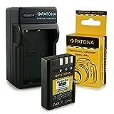 PATONA 3in1 Chargeur avec Batterie EN-EL9 / EN-EL9a pour Nikon D40 | D60 | D3000 | D5000 et bien plus encore...