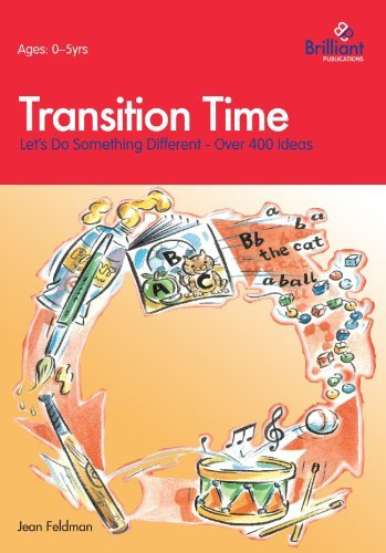 Transition Time. Let's Do Something Different! by J Feldman (2001-10-01)