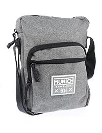 Munich 7052015, Shopper y Bolso para Hombre, Gris (Grey), 7x29x22 cm (W x H x L)