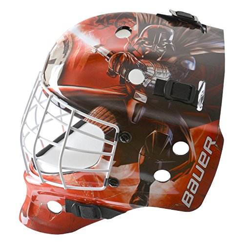 Bauer Start Wars nme Inline Hockey Máscara Casco para Calle Hockey para Adultos, Deportes y Tiempo Libre, Color, tamaño Medium