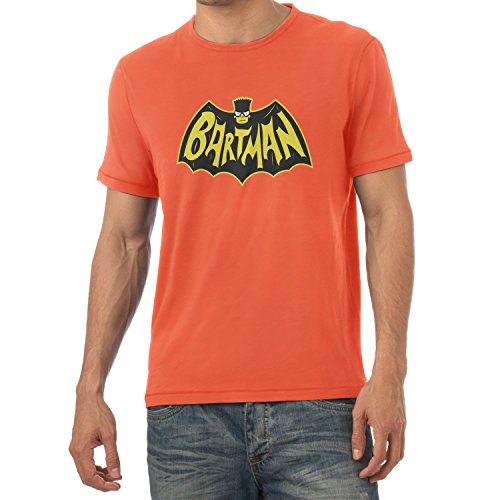 TEXLAB - Bartman - Herren T-Shirt Orange