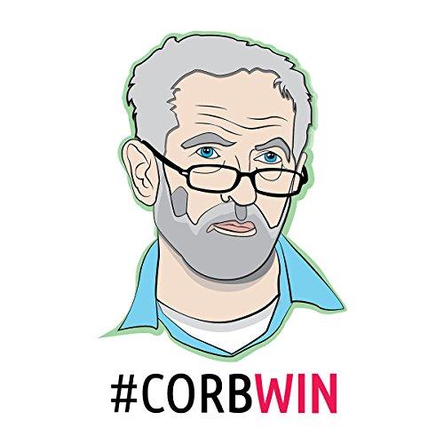 Corbwin Jeremy Corbyn Men's Vest White