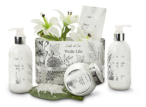 Wellness Set Weiße Lilie