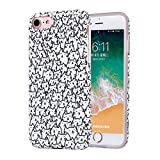 ZQ-Link Funda para Apple iPhone 6 Plus/6S Plus - Ultra Slim TPU Silicona Cover Gel Flexible Duradero Resistente Back Cover [Impresión Alta Definición] - Hermoso Gatito Gato