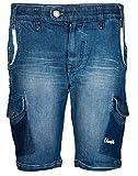 Chlorophile Men's Shorts (Pcs_Cyan Mid W...