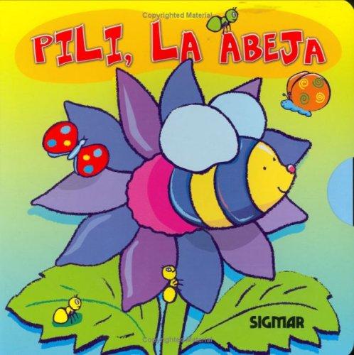 Pili, la abeja/Pili, the Bee (Girasol/Sunflower) por Jimena Cruz