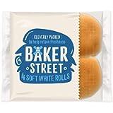 Baker Street 4 Soft White Rolls (Pack of 3) - Total 12 Rolls