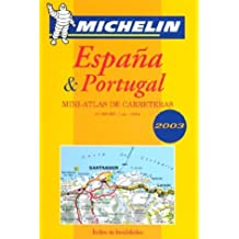 España & Portugal : Mini-atlas de carreteras