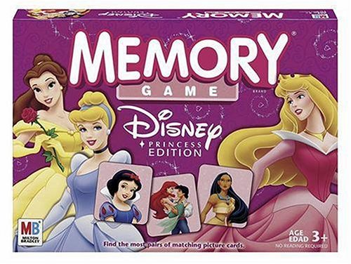 Click for larger image of Memory Game - Disney Princess Edition