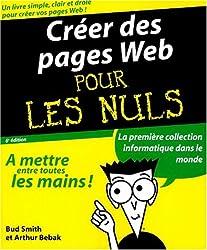 Créer vos pages Web pour les nuls
