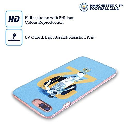 Ufficiale Manchester City Man City FC Kevin de Bruyne Giocatori Cover Retro Rigida per Apple iPhone 5 / 5s / SE Gael Clichy