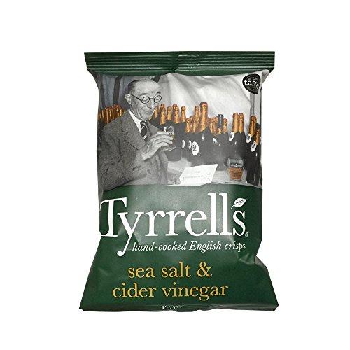 Tyrrell's Cider Vinegar und Sea Salt 40 g, 24er Pack (24 x 40 g)