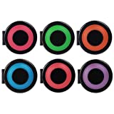 Hair Chalk Set of 6 Colors, SAVFY Non-Toxic Rainbow Colored Temporary Hair Color
