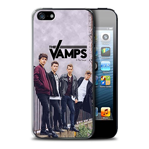 Offiziell The Vamps Hülle / Case für Apple iPhone SE / Pack 6pcs Muster / The Vamps Fotoshoot Kollektion Sammelalbum