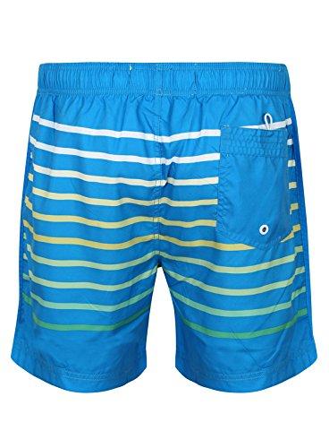 South Shore Gestreift Ombre Farbverlauf Schwimmshorts Schwimm Shorts 1S8992 Freimaurer Swedish Blue