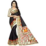 ISK FABRICS Women's Latest Khaddi Silk Printed Saree Free Size Beautiful Saree Or Women Party Wear Offer Designer Sarees With Blouse Piece