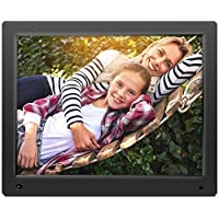 Nixplay Original 15 inch WiFi Cloud Digital Photo Frame iPhone & Android App, Email, Facebook, Dropbox, Instagram, Picasa. Black - W15A