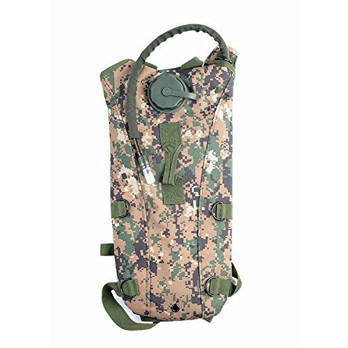 GFEI gli sport all'aperto viaggiare borsa borsa delle pressioni bocca puzza,Sansha mimetico 3 litri la giungla è di 3 litri