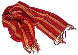 Tumia LAC - Natürlich gefärbte Alpaka-Wolle - Leichter Schal