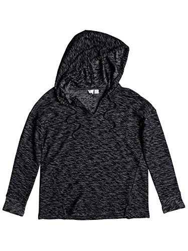 Roxy Wanted And Wild – Alto a cappuccio maniche lunghe per donna erjkt03288 Anthracite
