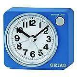 Seiko Unisex Wecker Analog Kunststoff weiß QHE100L