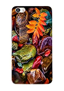 Omnam Beautiful Stones Color Effect On Water Printed Designer Back Cover Case For Xiaomi Mi5