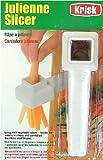 Krisk Julienne Slicer - Juliennes your Vegetables Kitchen Cutter Utensil
