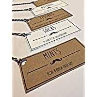 Grooms Survival Kit, Grooms Gift Tags, Groom Survival Kit Tags, Grooms Gift, Wedding Favour Tags
