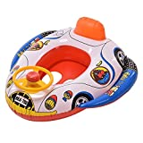 #10: TOTAM Inflatable Floating Swimming yellow duck for Kids - Water Floating Fun Toys Baby Float Inflatable